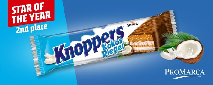 Star of the Year 2020 – 2e place – Knoppers KokosRiegel